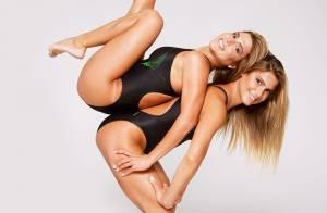 Bia e Branca Feres mostram treino para Olimpíadas e revelam intimidades. Vídeo!