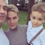 Ana Hickmann posta 1ª foto com família após atentado: 'Agradeço por estar aqui'