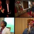 Sandra de Sá, Claudia Leitte, Paula Fernandes e Gaby Amarantos cantaram 'Olhos coloridos'