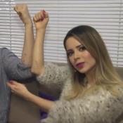 Sandy e Lucas Lima homenageiam o filho com tatuagem: 'Significa Theo em braile'
