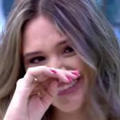 Juliana Paiva chora com mensagem de Juliana Paes na TV: 'Parabéns pelo sucesso'