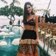 A modelo Gala Gonzales de Alberta Ferrelli