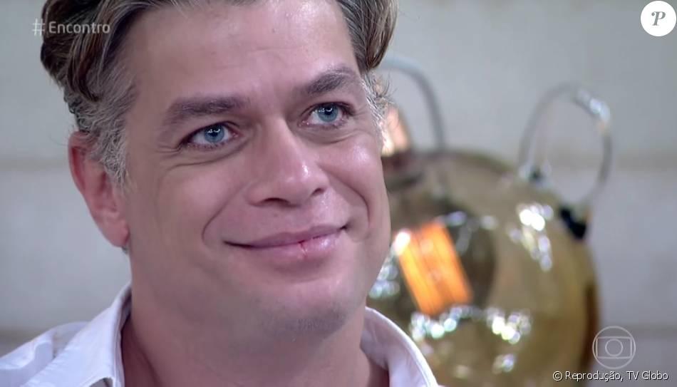 Fabio Assunção elogiou Felipe Simas durante o 'Encontro': 'Ator e uma pessoa especial'