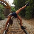 Isabella Santoni costuma exibir boa forma em fotos postadas no Instagram