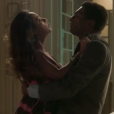 Em 'Totalmente Sem Noção Demais', Dorinha (Samanta Schmutz) faz as pazes com Zé Pedro (   Hélio de la Peña  )