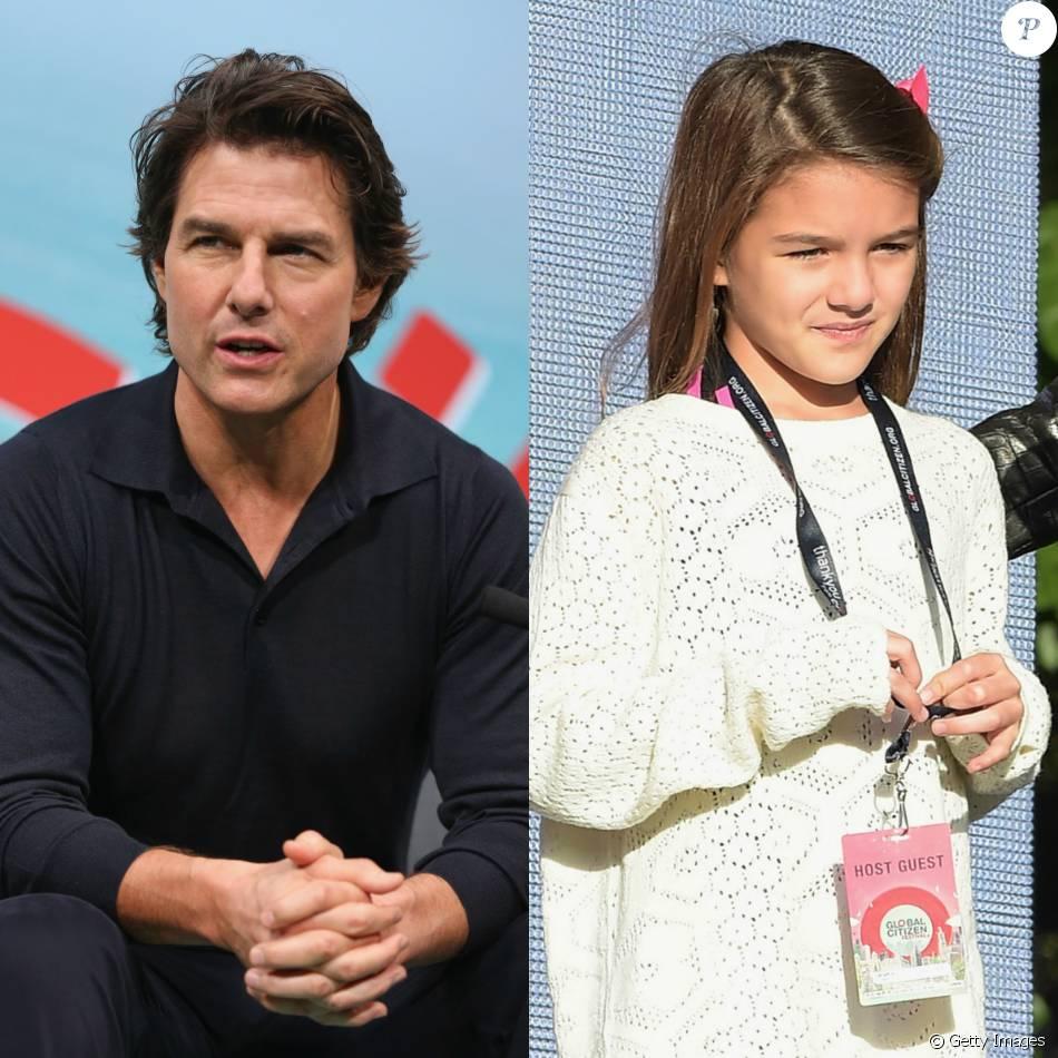 Tom Cruise não vê a filha Suri há mil dias por religião, afirma revista