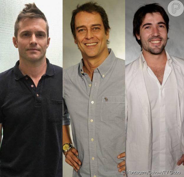 Claudio Heinrich, Marcello Antony e Sandro Pedroso estão trabalhando fora da carreira artística