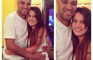 Adriano Imperador aparece com a nova namorada após término com a noiva, grávida
