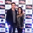 José Loreto e Cleo Pires posam na pré-estreia do filme 'Mais Forte Que o Mundo', em São Paulo, nesta segunda-feira, 6 de junho de 2016