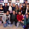 Elenco do filme 'Mais Forte Que o Mundo' se reúne para pré-estreia em São Paulo, nesta segunda-feira, 6 de junho de 2016