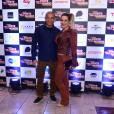 José Aldo e a mulher, Vivianne Aldo, na pré-estreia do filme 'Mais Forte Que o Mundo', em São Paulo, nesta segunda-feira, 6 de junho de 2016