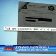 Biel está sendo acusado de assediar uma jornalista durante uma entrevista