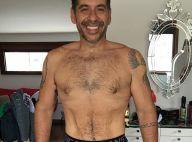 Leandro Hassum posa sem camisa após emagrecer mais de 60 kg: 'Orgulho'. Fotos!