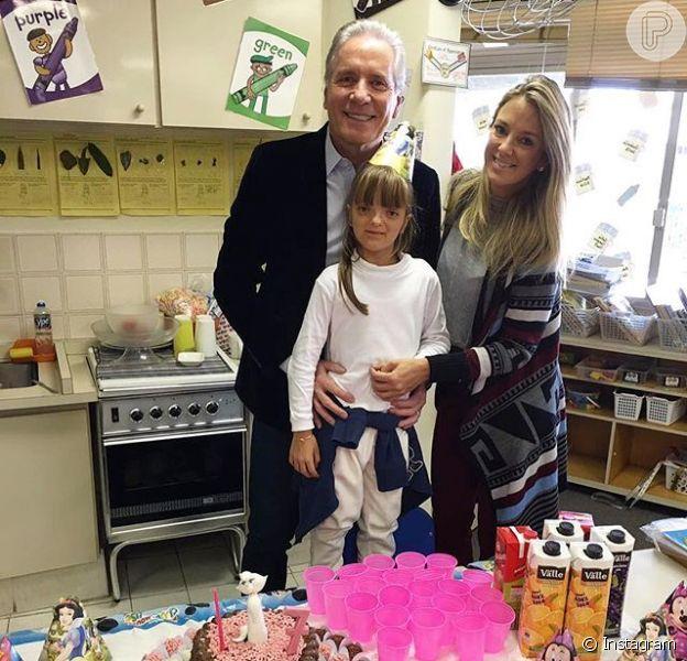 Rafaella Justus ganhou uma festa de aniversário antecipada dos pais, Ticiane Pinheiro e Roberto Justus, nesta quarta-feira, dia 08 de junho de 2016