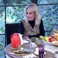 Ana Maria Braga se ofereceu a dar aulas de croché para Nathalia Dill