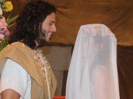 'Os Dez Mandamentos - Nova Temporada': veja fotos do casamento de Yarin e Quenaz
