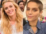 Carolina Dieckmann elogia visual careca de Isabella Santoni: 'Ficou linda!'