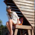 Ana Paula Renault dividiu as imagens com seus seguidores no Instagram, mostrando momentos da viagem