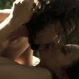 Joaquina (Andreia Horta) e Xavier (Bruno Ferrari) protagonizam cena de sexo em 'Liberdade' na última sexta-feira, dia 11 de junho de 2016