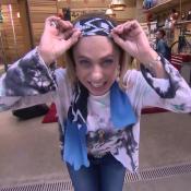 Cissa Guimarães leva 15 pontos na cabeça e mostra no 'É de Casa': 'Cuidado'