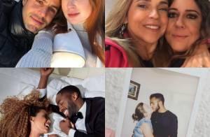 Famosos fazem declarações de amor aos parceiros no Dia dos Namorados. Veja!