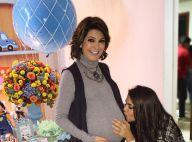 Antonia Fontenelle aparece morena em chá de bebê do filho: 'Sai logo daí'