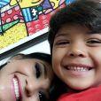 Yhudy, de 5 anos, é o filho de Wesley Safadão e Mileide Mihaile