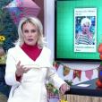Ana Maria Braga denunciou propaganda de remédio para emagrecer que usa sua imagem indevidamente  no 'Mais Você' desta segunda-feira, 13 de junho de 2016