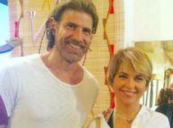 Cláudia Abreu adota cabelo com corte joãozinho para novela 'A Lei do Amor'
