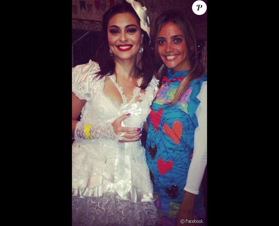 Juliana Paes Já Teve Seu Dia De Noiva Caipira Na Festa