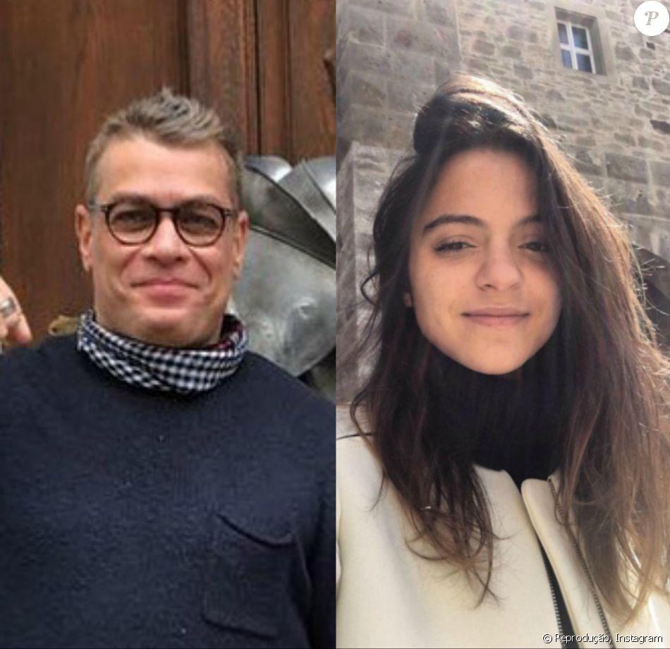 Fabio Assunção viajou com a namorada, Pally Siqueira, com quem assumiu a relação em março deste ano, para Munique, na Alemanha