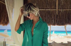Julianne Trevisol curte férias em Cancun com namorado, Christian Monassa. Vídeo