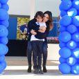 Luca, filho de Carol Celico e Kaká, completou 8 anos e ganhou uma festa em um buffet em São Paulo