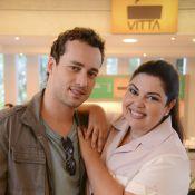 Rodrigo Andrade quer contracenar com Fabiana Karla em clipe da música '30 anos'