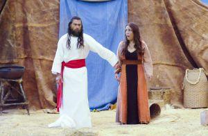 Últimos capítulos de 'Os Dez Mandamentos': terra se abre e mata Corá. Fotos!