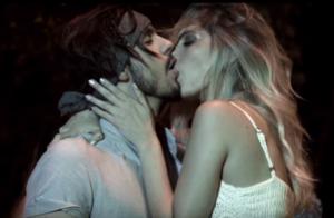 Modelo admite ciúme do namorado no clipe 'EVME', de Luan Santana:'Beijo técnico'