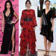 As produções de Kate Young sempre chamam atenção no tapete vermelho usadas por famosas como Dakota Johnson, do filme '50 Tons de Cinza', Natalie Portman e Selena Gomez