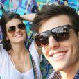 Camila Queiroz havia manifestado vontade de se casar com Lucas Cattani, em entrevista de junho passado: 'Se ele pedir a minha mão, me caso amanhã'