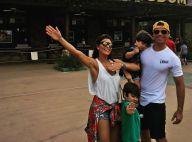 Juliana Paes viaja para Disney com filhos, marido e irmãs: 'Chegamos!'. Fotos!