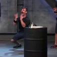 Em uma prova dos homens no quarto episódio, o empresário ficou empolgado ao ganhar uma prova e fez um gesto obsceno para os casais rivais, que ficaram irritados