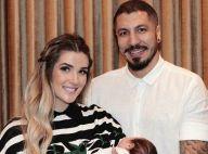 Ex-BBB Aline Gotschalg emagrece 13 kg após nascimento de Lucca: 'Mama muito'