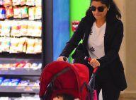 Vanessa Giácomo e a filha, Maria, de 1 ano, embarcam em aeroporto do RJ. Fotos!