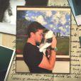 Klebber Toledo mostrou sua gata de estimação no 'Mais Você'. Animal foi resgatado das ruas pelo ator
