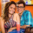 Filipe (Francisco Vitti) e Nanda (Amanda de Godoi) são namorados em 'Malhação: Seu Lugar no Mundo'