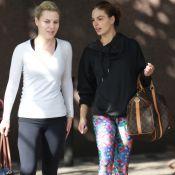 Isis Valverde usa bolsa Louis Vuitton de R$ 6,2 mil para ir à academia. Fotos!