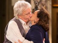 Novela Êta Mundo Bom!': Pancrácio pede Anastácia em casamento e a beija