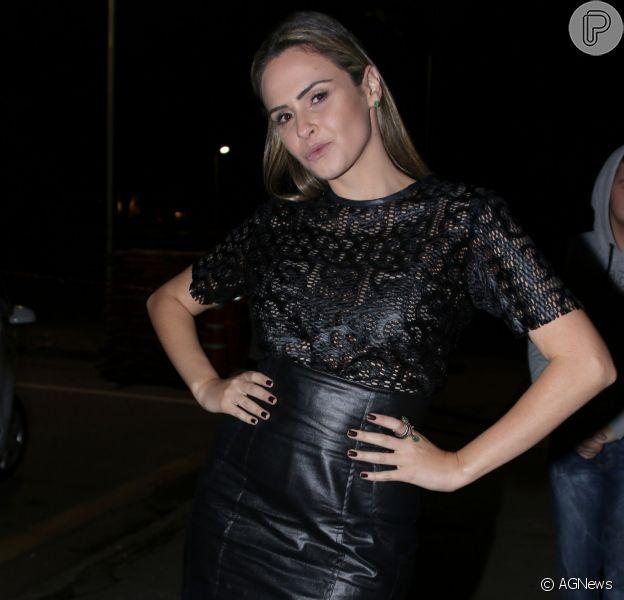 Ana Paula Renault vai fazer uma participação como ela mesma na novela 'Haja Coração'