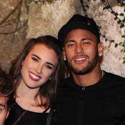 Neymar posa ao lado de Marcela Fetter, atriz de 'Malhação', em festa. Fotos!