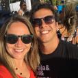 Fernanda Gentil sobre sua relação com o ex-marido, Matheus Braga: 'É bem tranquilo, nos conhecemos faz uma vida. Somos do bem e agora temos um bem maior'
