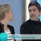 Xuxa incomoda o namorado, Junno Andrade, quando o chama de fofo: 'Pega mal'